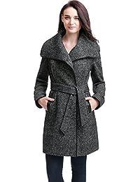 Amazon.com: Plus Size - Wool & Pea Coats / Coats, Jackets & Vests ...