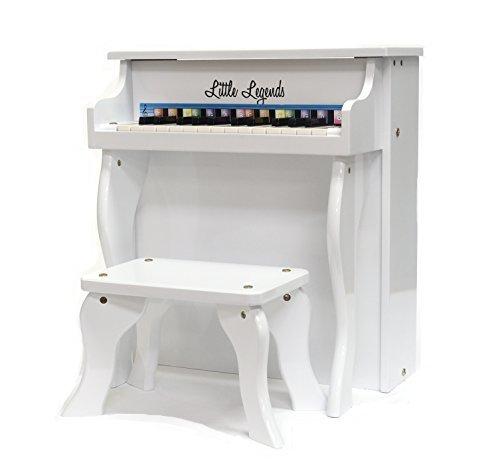 超特価激安 Little Legends LLSP25TWH 25-Key Little Upright 25-Key Piano [並行輸入品] Upright B07MRBM571, car電倶楽部:d78034ae --- arianechie.dominiotemporario.com