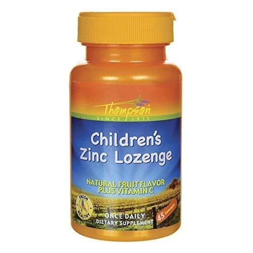 Thompson Children's Zinc w/C 45 Lozenges (5 Pack)