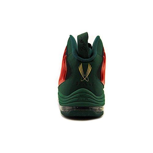 Nike Mens Sonic Flyg Basketsko Legion Tall / Universitet Röd-vit-tour Gul