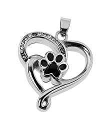 CUTICATE Stainless Steel Heart Frame Cremation Pendant Ash Funeral Memorial Jewelry Forever Remember