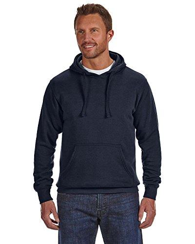 J America Cloud Pullover Fleece Hood, XL, NAVY
