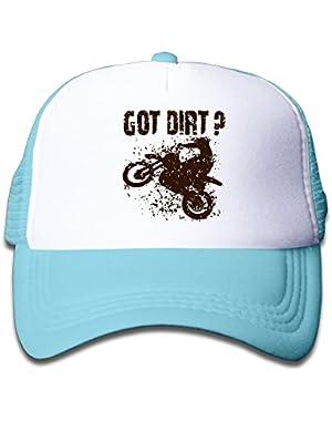 Got Dirt Bike Motorcross Racing Mesh Hat Trucker Style Outdoor Sports Baseball Cap With Adjustable Snapback Strap…