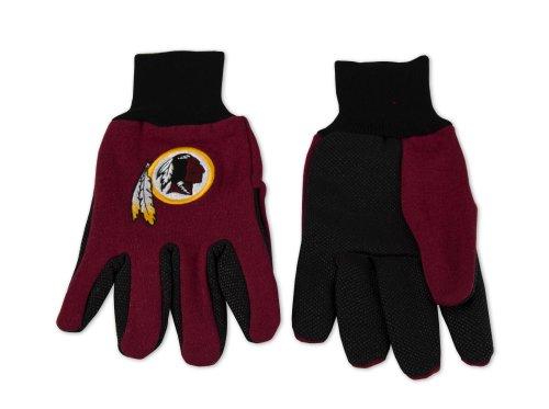 (NFL Washington Redskins Unisex Nflnfl Two-Tone Gloves, Red, One Size)