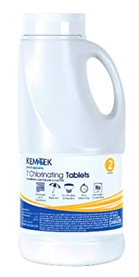 Kem-Tek 1-Inch Chlorinating Tablets for Pool and Spa by Chem Lab Products, Inc.