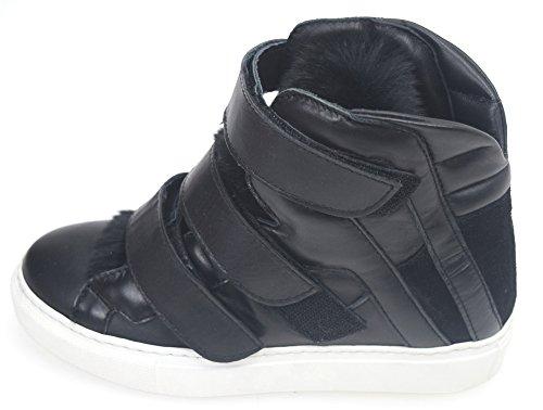 Pinko Donna 1p20 Interna Nero Antianatomico Zeppa Sneaker Con Art Scarpa AxnrpA