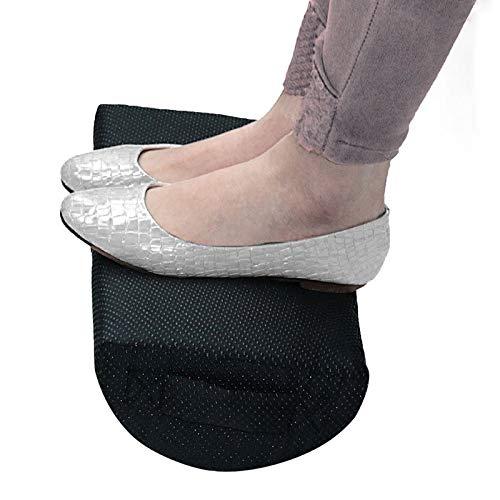 TOOGOO Comfort Foot Rest Cuscino Cuscino Memory Foam Under Office Desk Mezzo Cilindro Home Foot Relax Sollievo Dal Dolore Rilassante Cuscino