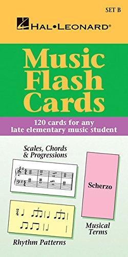 Chords Key Signatures (Music Flash Cards set B)