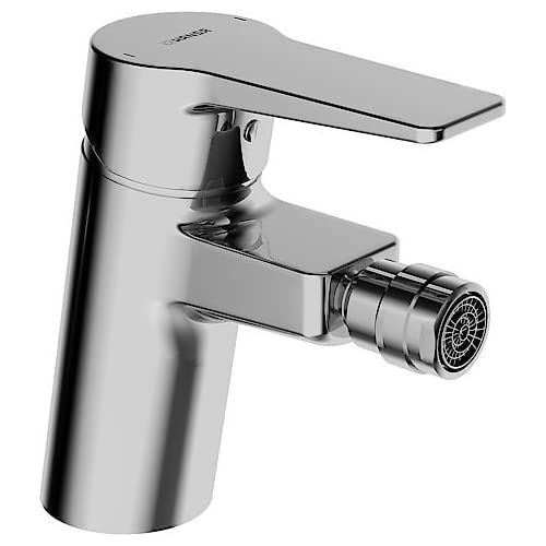 Hansa single-lever mixer for use with bidet Hansatwist 0906, chrome-plated 9063283 durable service