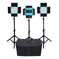Dracast S-Series LED500 Plus Bi-Color LED 3-Light Kit Deals
