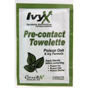 IvyX Pre-contact Skin Protection Towelette Case Pack 50 by IvyX
