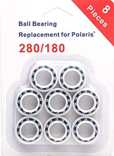 C60 Binding - ATIE 8 Pack Wheel Bearings Replacement for Polaris 180/280 Pool Cleaner Part C-60 C60