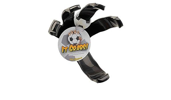 It Grabs, soporte para balones dé fútbol - hand claw - Negro ...