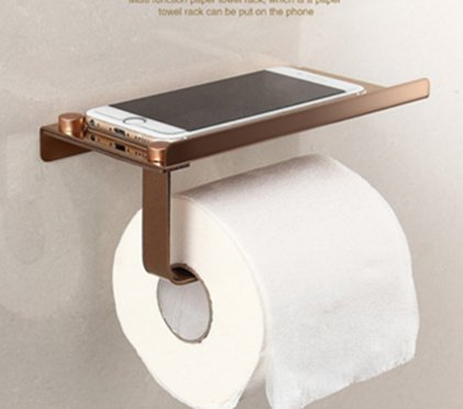 Toilettenpapierhalter Klopapierhalter Oberablage für feuchte Toilettentücher