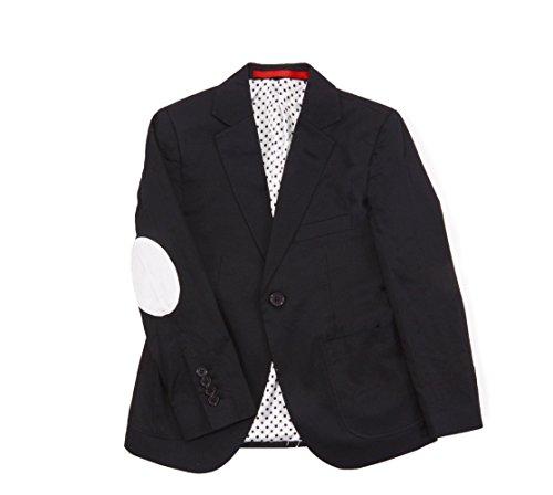 Elie Balleh Brand BLACK Big Boy's 2014 Style Slim Fit Jacket/Blazer