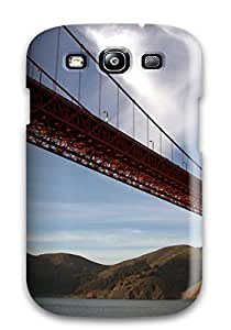 Durable Case For The Galaxy S3- Eco-friendly Retail Packaging(golden Gate Bridge)