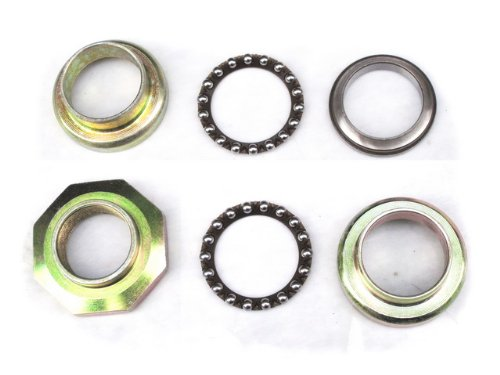 6Z YAMAHA PW50 PW 50 HEADSET BEARING SET KIT FORK BE03 Front Fork Bearing