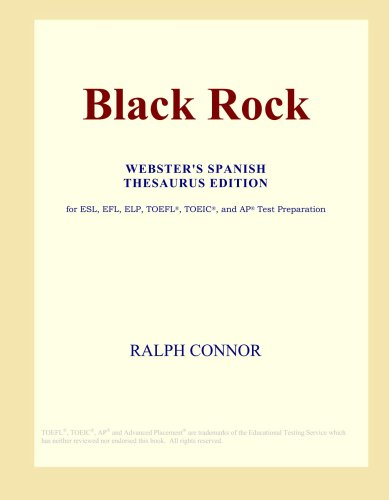 Download Black Rock (Webster's Spanish Thesaurus Edition) pdf epub