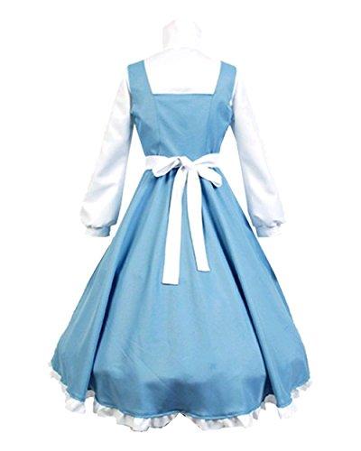 Women Apron Maid Dress Cosplay Costume