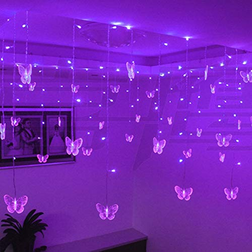 Allamp Multicolor Butterfly LED String Strip Holiday Kerstverlichting Garlands 3.5m 100 SMD EU/VS/UK/AU PARTIJD…