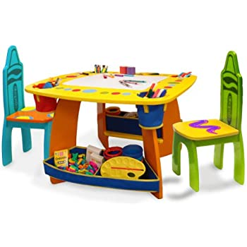 Crayola Wooden Table And Chair Set