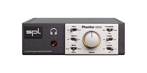 - SPL Headphone Amplifier Speaker Simulation Featured Model 1320 Phonitor Mini