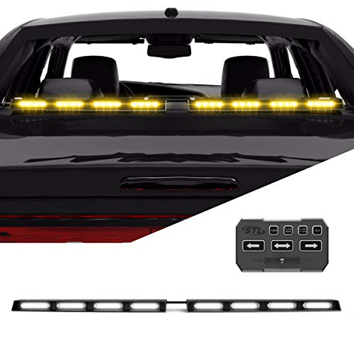 raptor tir rear lower windshield split led