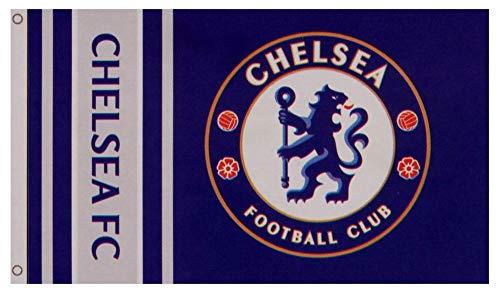 Chelsea FC Authentic EPL Crest Flag ()