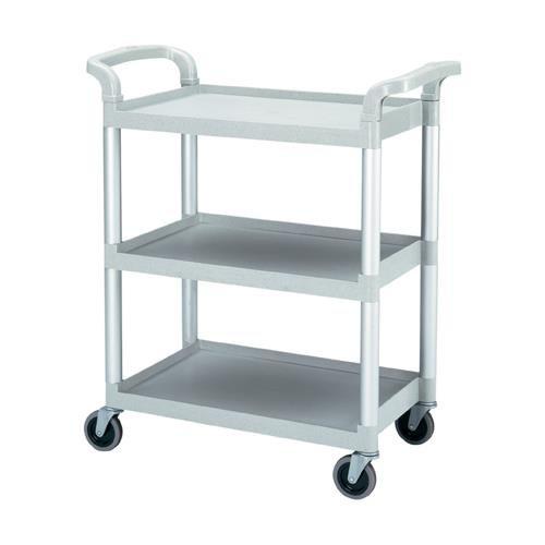Cambro Utility/Service Cart, 300 Pound Capacity, Knocked Down, Gray BC331KD ()