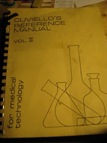 cuviello s reference manual for medical technology volume ii ms rh amazon com SAP Manual Reference VA Manual Reference