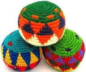 Penny Lane Gifts Penny Lane Brand Hacky Sack Imported From Guatamala Set of 3