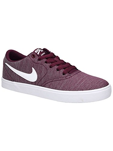 Skateboard Femme Multicolore Cvs Sb 612 De Wmns white P bordeaux Check Nike black white Chaussures Solar qz81Ux4w