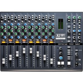 Solid State Logic X Desk 8 Channel Dual Input Super Analogue Mixer by Solid State Logic