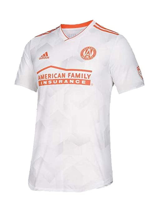 Adidas Atlanta United FC - Camiseta de Manga Corta para Hombre, XXL, Blanco