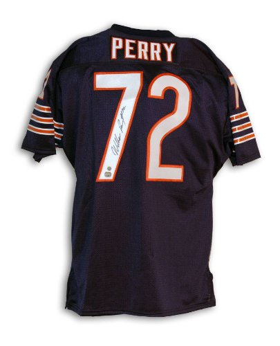 - Chicago Bears William Perry Chicago Bears Autographed Throwback Jersey - APE COA