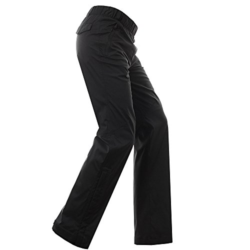 Adidas Rain Pants (Adidas 2017 Mens Golf Climaproof Heathered Waterproof Rain Pants Golf Trousers Black Medium)