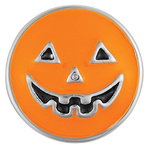 Ginger Snaps Petite Orange Jack-O-Lantern GP19-11 Interchangeable Jewelry -