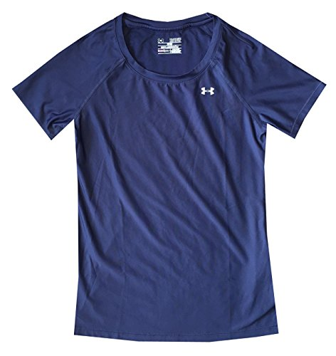 Under Armour Heatgear Alpha - Camiseta de manga corta para mujer Faded Ink