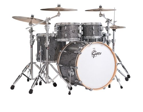 Gretsch New Renown Maple 4-Piece Euro Drum Set Shell Pack - Blue Metal