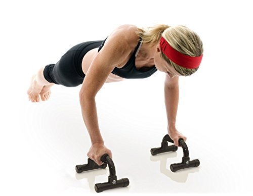 321 STRONG Push Up Bars with Bonus Ebook Great for Upper Body Strength