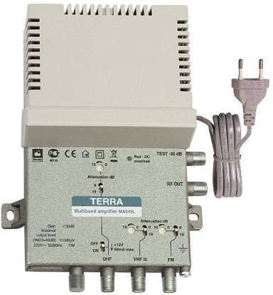 Central Banda Ancha LTE UHF/VHF/FM 34dB Tecatel MA049L ...