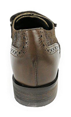 Zerimar Damen Leder Schuhe Bequeme Schuhe Frauen Schuh Weiches Leder Schuhe Lederschuhe Damen Braun35