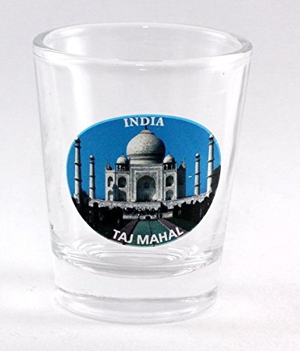 India Taj Mahal Shot Glass