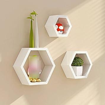 ZHDC® Auf Der Wand Gebrauchsgut Regal Modernes Einfaches  Schindel Wohnzimmer Dekoration
