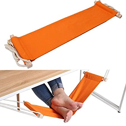 Touch10A421 Fuut Desk Feet Hammock (Orange)