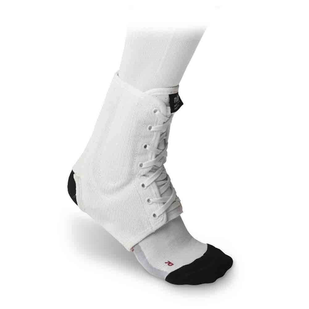 McDavid Classic Logo 199 CL Level 3 Ankle Brace Lace-up W// Stays White large