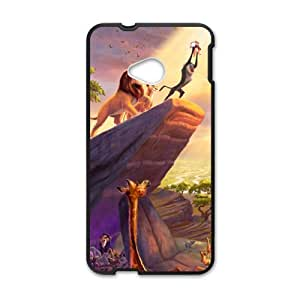 Charming lion and lovely animals Cell Phone Case for HTC One M7