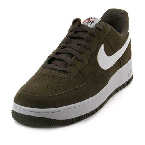 Nike Air Force 1 Men's Shoe Cargo Khaki/White 820266-301 (13 D(M) US) (Cargo Force Air)