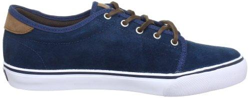 Dekline Santa-Fe-Chad-Tim-Tim 602403 - Zapatillas de skate de ante unisex Azul