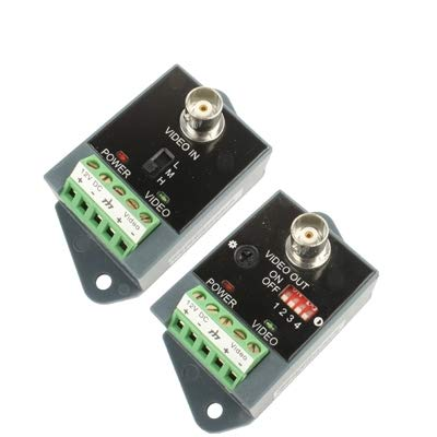 Video Accessoris & Connectors Active CCTV UTP Twisted Pair Video Balun Transmitter and Receiver
